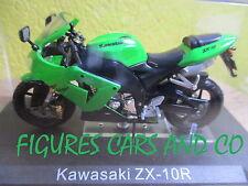MOTO 1/24 COLLECTION GM  KAWASAKI ZX-10R  MOTORRAD MOTORCYCLE
