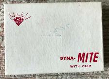 VINTAGE 1950'S NICHOLS DYNA-MITE DERRINGER WITH CLIP IN ORIGINAL BOX