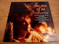 The Two Of Us Great 80s Love Songs UK Vinyl LP Original Pressing