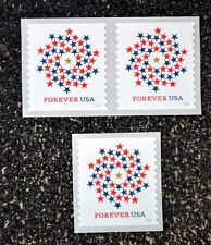 2016USA #5130 Forever Patriotic Spiral - Coil Set Single & Pair  Mint