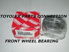 NEW GENUINE TOYOTA FRONT WHEEL BEARING 90369-43008 RX300 ES300 CAMRY AVALON MR2