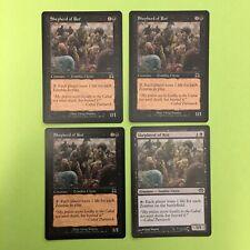 4 X Shepherd of Rot, Onslaught + Planechase, Magic the Gathering Mtg Cards, Nm
