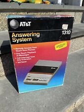 1986 AT&T Answering Machine 1310 NEW IN BOX 80's Vintage Phone Retro Electronic