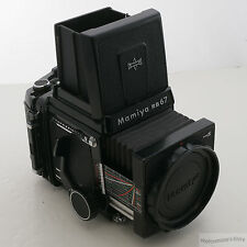 Mamiya RB67 Pro-S Medium Format SLR Film Camera w/Bright Screen/220/WLF (#2225)