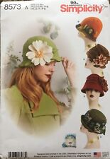 """Simplicity Pattern 8573 Misses Hats in 3 Sizes 21"""", 22"""" & 23"""" New Release"""
