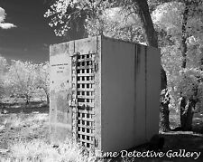 Old Jail Cell Alongside Road, Route 66, Arizona - Giclee Photo Print