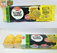 Munchee Kome Rice Cracker Biscuit Cumin Flavour Best Quality Ceylon Product 90g