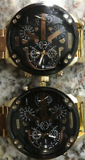24 K Gold Diesel Watches 2 For $100