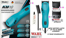 Wahl KM10 BLUE PRO 2-Speed ULTIMATE DUTY Clipper KIT-10&5F Blade*Pet Grooming