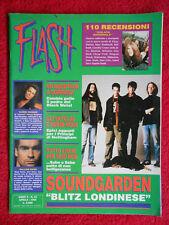 Rivista FLASH 63/1994 Soundgarden Quorthon Tyketto Glenn Hughes Skid Row  No cd