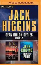 Eye of the Storm/Thunder Point by Jack Higgins (MP3 CD, 2016, Unabridged)