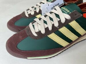 RARE Adidas Originals WALES BONNER SL 72 Shoes Hemp Maroon Orange FX7515 SIZE 8