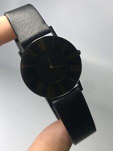 Vintage Movado Ultra Thin Men's 30mm Swiss Quartz Watch 87-40-887N [120WEI]