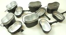 HUNGARY HUNGARIAN ARMY OUTDOOR COOKSET COOK SET MESS TINS