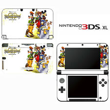 Vinyl Skin Decal Cover for Nintendo 3DS XL LL - Kingdom Hearts Re:coded