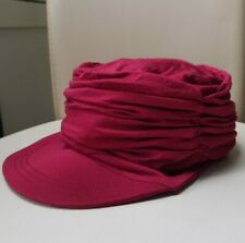 FocusCare Chemo Soft Hat Bamboo Hair Loss Turban Style Wine Red