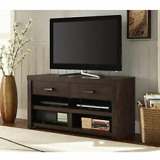 Flat Screen TV Stand Modern Entertainment Center Unit Wooden Media Console Table
