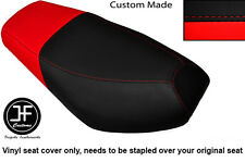 BLACK AND RED VINYL CUSTOM FITS CPI OLIVER SPORT 50 DUAL SEAT COVER ONLY
