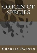 Origin of Species Charles Darwin by Charles Darwin (2013, Paperback)