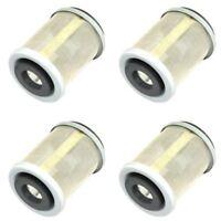 4 Pcs Oil Filter For Yamaha YTM200 YTM250 TW200 XT125 TT600 350 SR125 MBK 125 XC