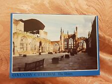 Coventry Cathedral - The Ruins - Vintage Postcard
