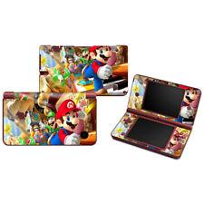 Super Mario VINYL SKIN STICKER Cover For NINTENDO DSi XL LL Console