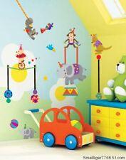 Animal Circus Children's Room/Nursery Wall Stickers UK