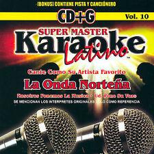 DAMAGED ARTWORK CD Onda Nortena: Karaoke Latino, Vol. 10: La Onda Nortena Karaok