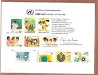 United Nations Scott #NY 33 Mint Card 5/6/88