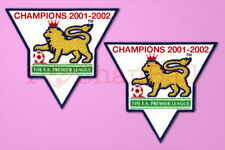 England Premier League Champion 01-02 Sleeve Gold Patch / Badge ManUnited Jersey