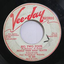 Hear! Blues Promo 45 Nkoble Watts - Big Two Four / South Shore Drive On Vee Jay