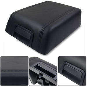 Center Console Arm Rest Lid Cover Pad Leather for Lincoln Mark LT 2006-2008