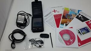 Hewlett Packard IPAQ rz1710 + case manuals cd stylus belt-clip charger usb cable