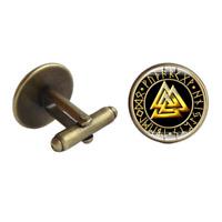 Viking Rune Cufflinks - Retro Nordic Rune Symbol Cufflinks - UK Stock - FREE P&P