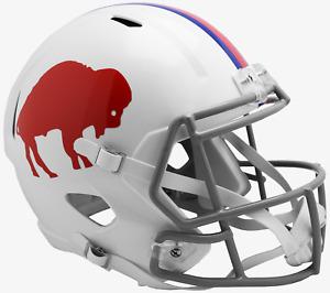 BUFFALO BILLS 1965-1973 THROWBACK Riddell SPEED Replica Football Helmet