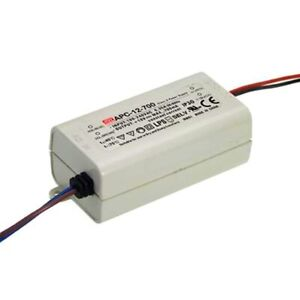 Mean Well APC-12-700 Constant Current (CC) 12W IP42 LED Driver 700mA