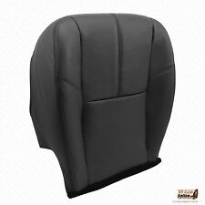 2010 2011 2012 2013 Silverado 2500HD LT Driver Bottom Leather Seat Cover Black