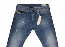 Diesel Thavar 0663E Jeans Ajustados W31 L34 100% Auténtico