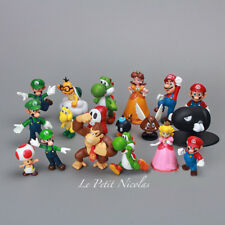 Super Mario Bros lot de 12 Figurines très mignonne poupée classique jouet décor