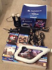 Sony PlayStation VR Starter Pack & Games Move Controllers Farpoint Bundle