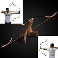 30lb Traditional Recurve Bow Mongolian Horse Bow Longbow Archery Outdoor Hunting