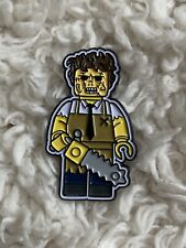 Butch O Vision Leatherface Lego Pin Horror