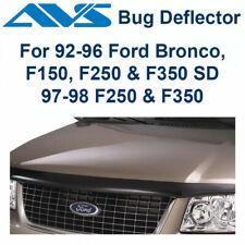 AVS Hoodflector Bug Deflector Smoke 1992-1996 Ford F150 F250 F350 Bronco - 21955