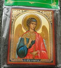 Russian wood icon    Guardian Angel  #2