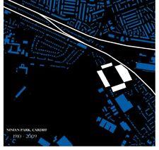 Cardiff City Ninian Park Stadium Map - Football Gift Stadiamap