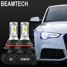 9007 LED Headlight Bulbs for Ford Ranger 1993-2011/F-150 1992-1998 High Low Beam