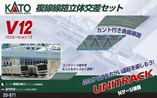 Kato 20-871 Unitrack Variación set V12 (escala N)