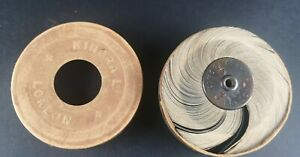 ANTIQUE KINORA REEL CIRCA 1900/1910 MAN AND LADY/ IN ORIGINAL BOX / OPTICAL TOY