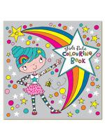 Girls Rule - Children's Colouring Book by Rachel Ellen - Girls Gift Present Fun