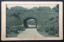 Ivy Bridge, Delaware Park, Buffalo, N.Y.